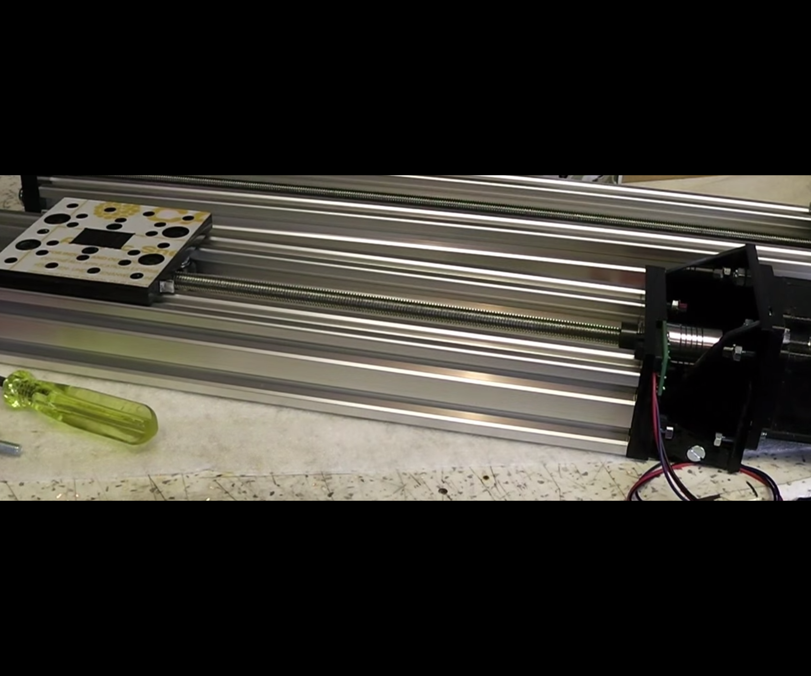 C-Beam Linear Actuator - can be Lasercut or Handmade - Compatible with Openbuilds