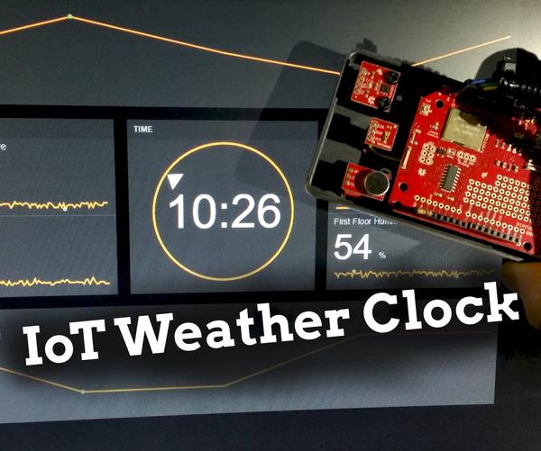 Arduino IoT Weather Clock