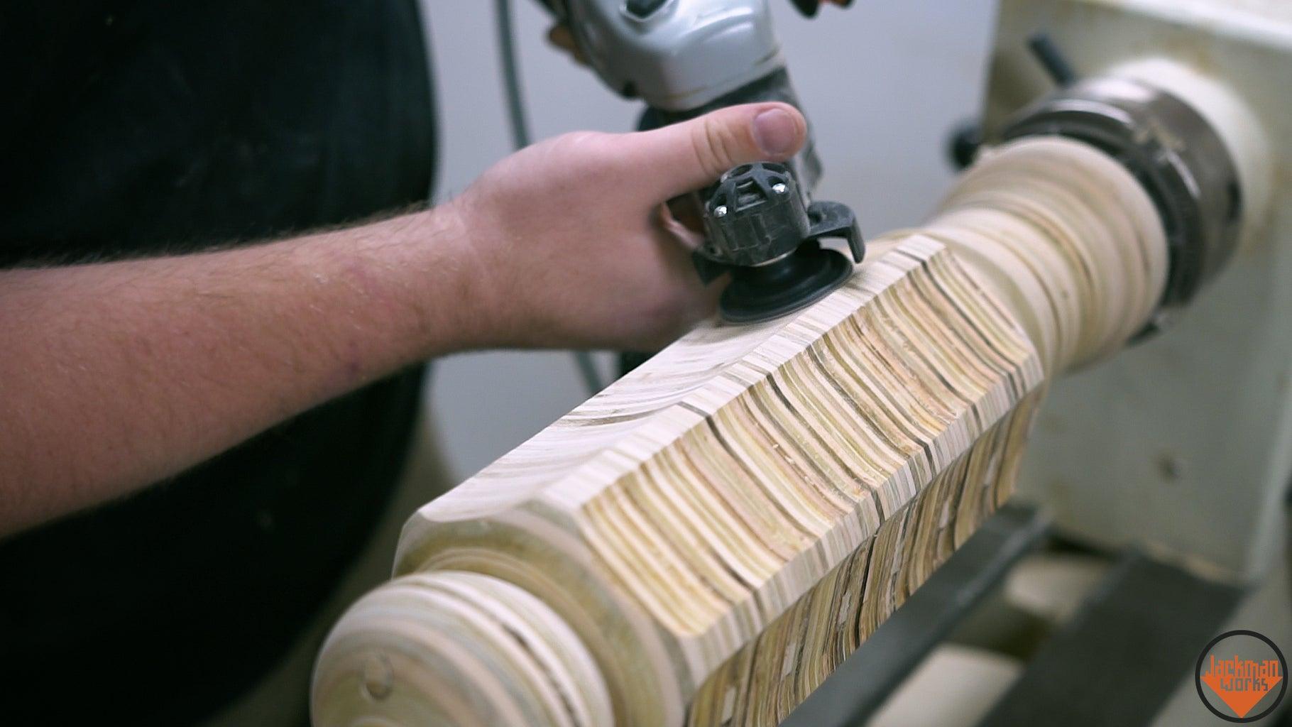 Turning the Plywood Blank