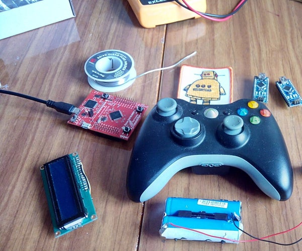 Controlling Arduino With Gamepad