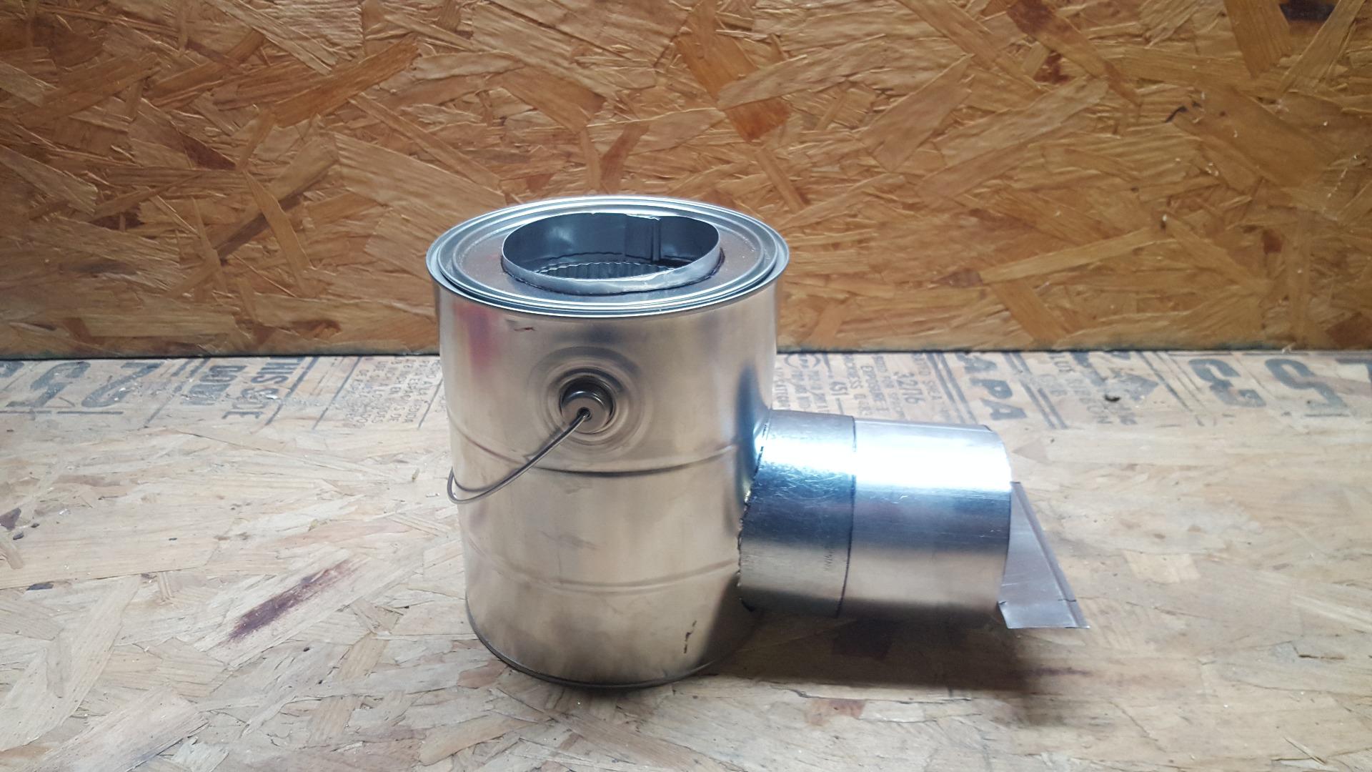 Under $20 Rocket Stove/Heater