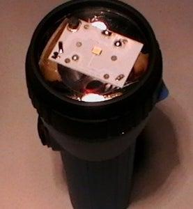 Convert EVEL 152S Flashlight From Spot to Flood Light