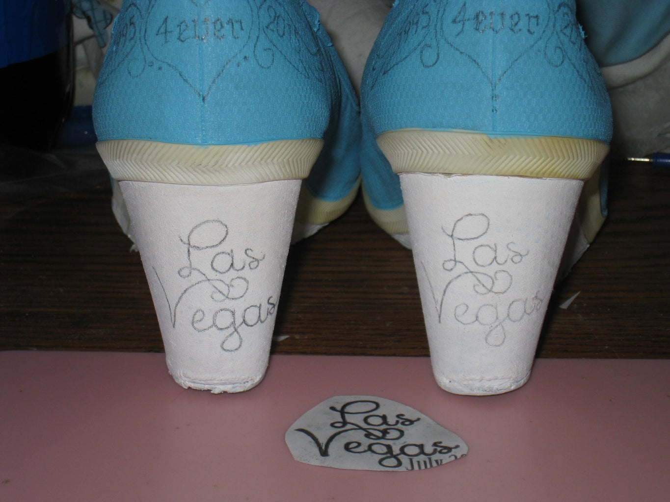 Tranfering Your Designs to the Shoes...