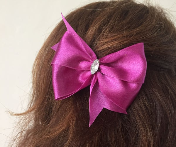 Double Winged Hair Bow