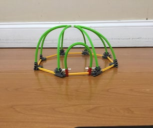 Knex House, With Instructions