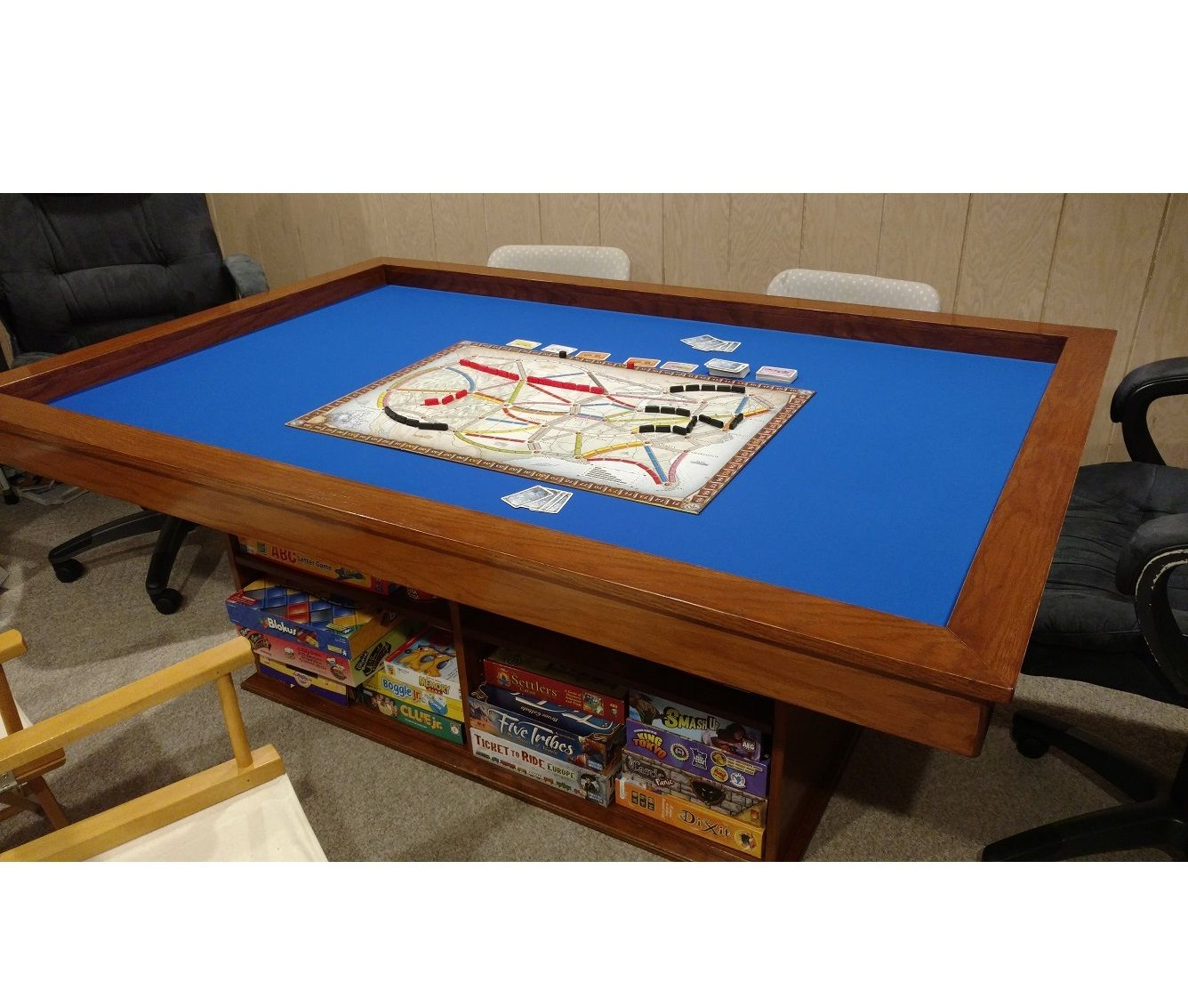 Make Your Own Gaming Table With Built In Game Storage 5 Steps With Pictures Instructables