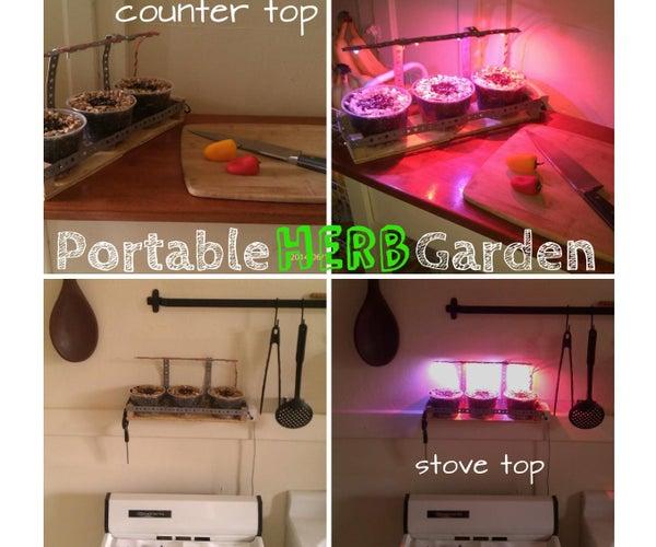 Portable Herb Garden, Grow Fresh Herbs Year Round