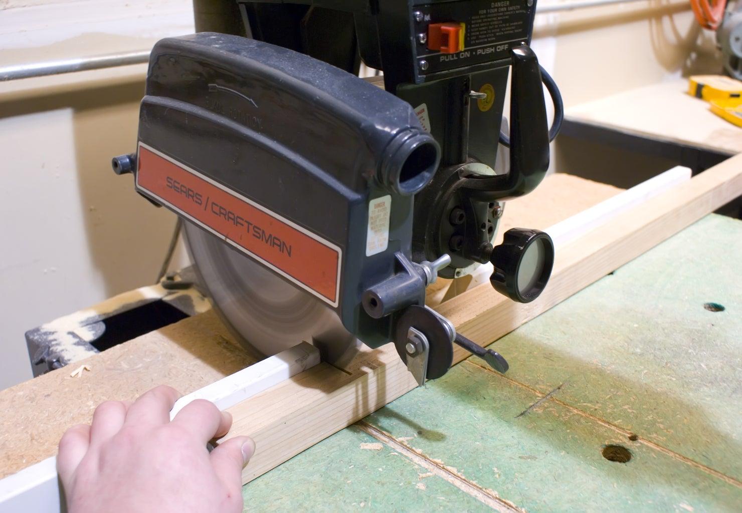 Make the 2x2 Peg Board Frames