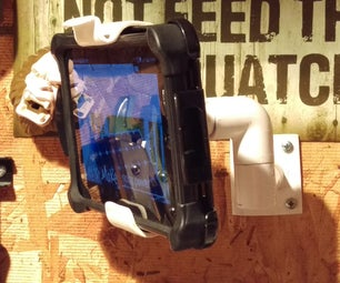 PVC Tablet Holder