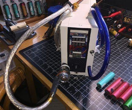 DIY Capacitive Discharge 18650 Spot Battery Welder #6
