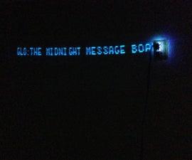 GLO:午夜留言板和RSS显示
