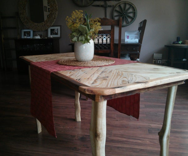 Palletwood Table