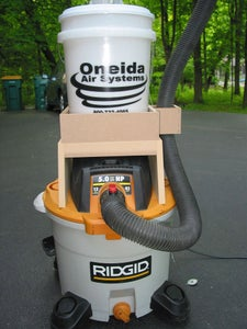 Piggyback a Dust Collector on Your Shop Vac