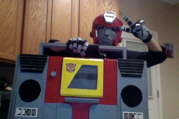 Transformers Carrying Case: Blaster