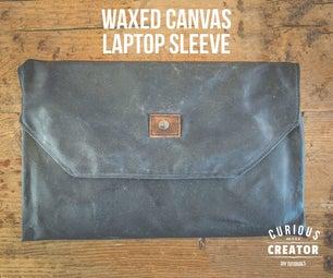 Waxed Canvas Laptop Sleeve