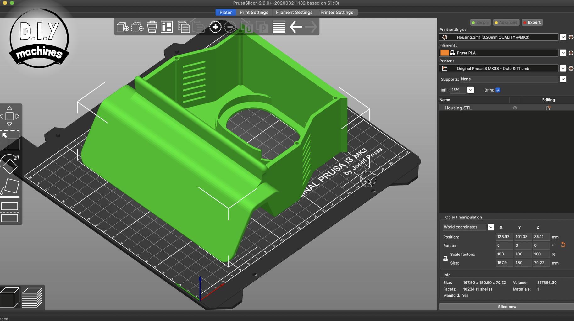 Printing the Control Panel