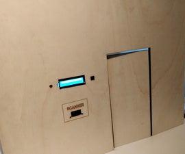Lock Changer: Open Door With QR-code