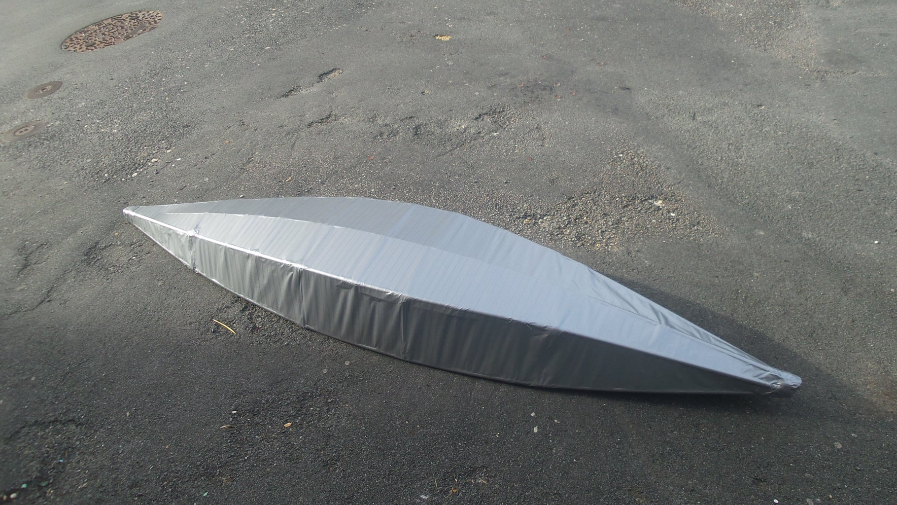 Coating in Duct Tape