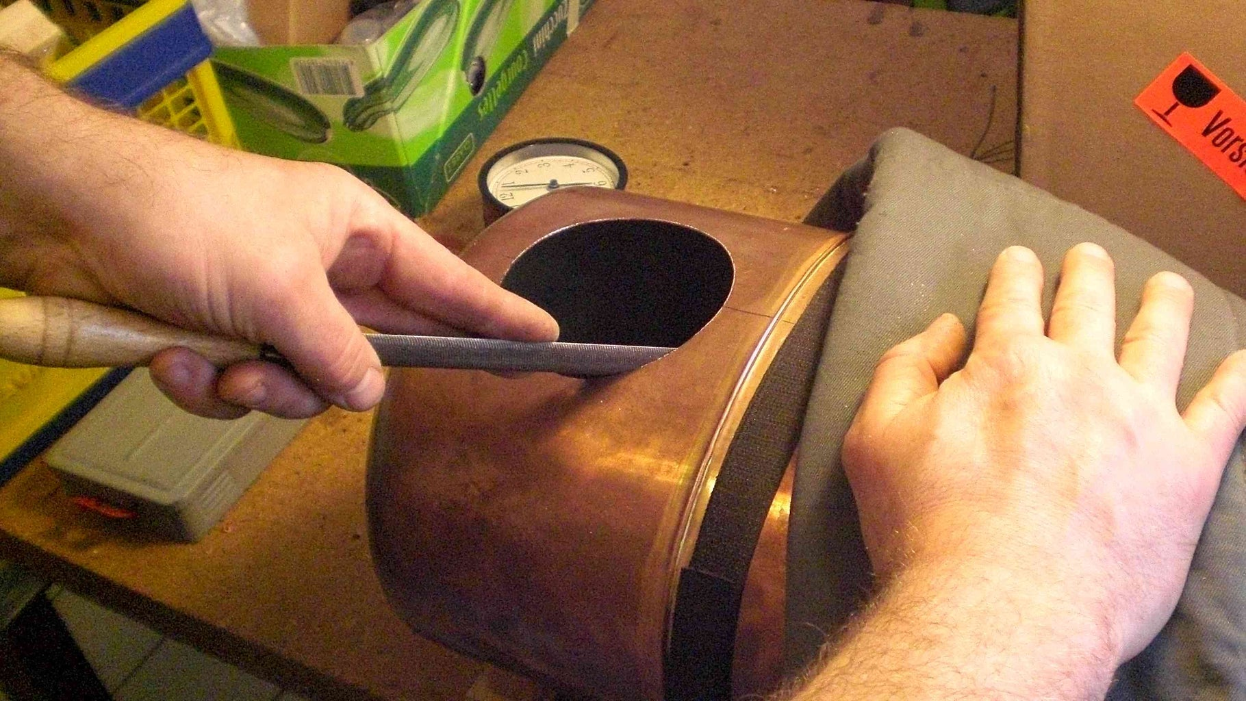 Modifying of the Old Steam-boiler