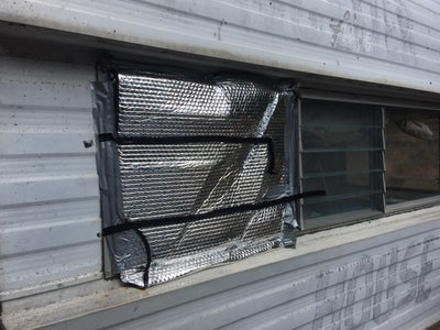 On-the-road RV Glass Panel Repair