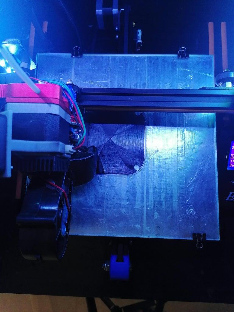 3D Printed Parts Version:2 Lamp