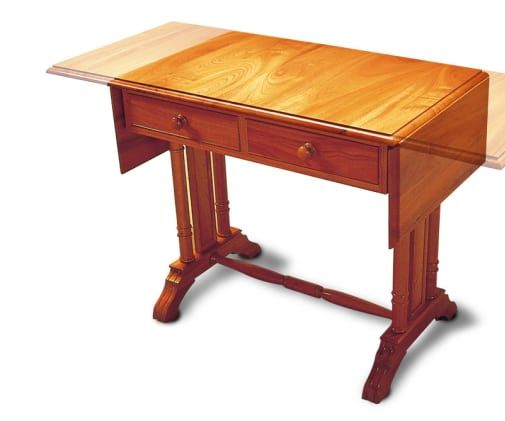 How to Make a Cedar Sofa Table