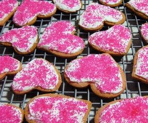 Pink Pierrot Cookies