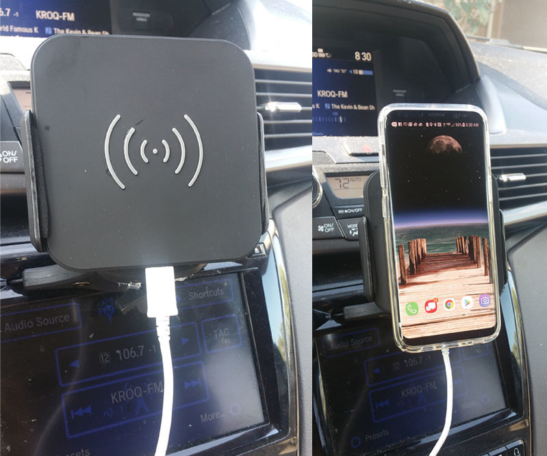 Cheap and Easy Magnetic Wireless Car Qi Charger