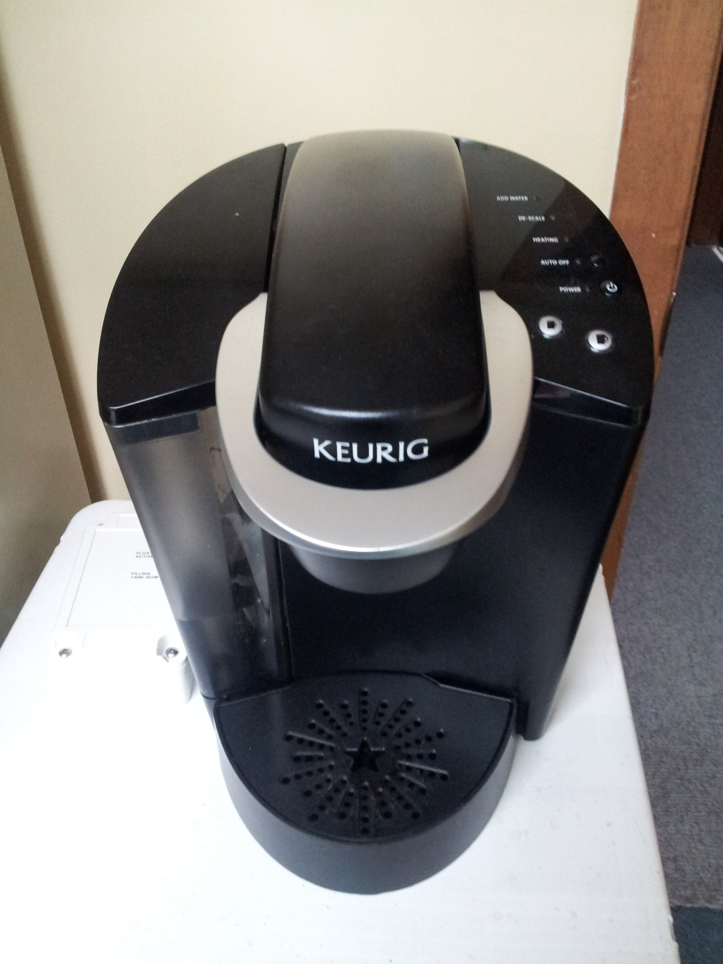Keurig Coffee Maker Automatic Filler Circuit