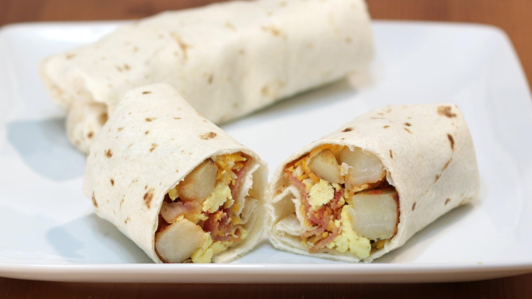 Yummy Breakfast Burrito