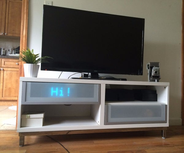 Web Controlled LED Info Ticker