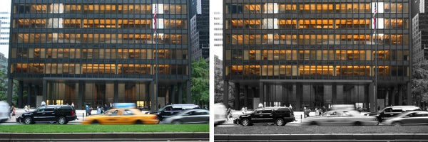 Expressing Architectural Qualities of a Photo by Using Tools in Photoshop