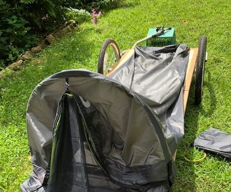 Folding Bike Trailer With Tent