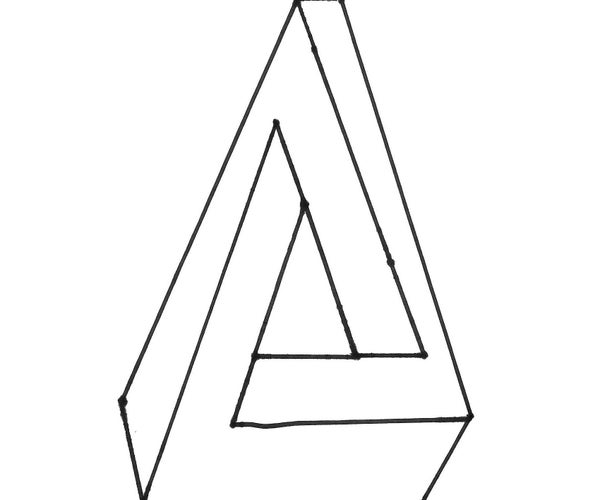 Pen Rose Triangle in 5 Easy Steps