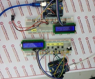 Infrared Wireless Temperature Transmission Alarm System With Arduino