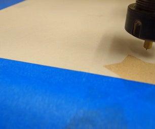 Cut a 50 Foot+ Long Roll of Mylar on a ShopBot