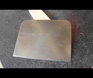 Make a Card Scraper From Old Saw