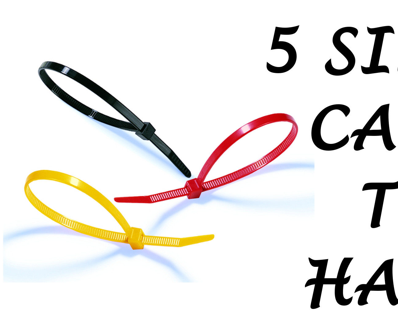 5 Ways to Use Cable Ties You Should Know