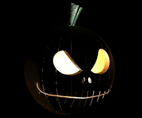 Jack O Lantern Pumpkin Head