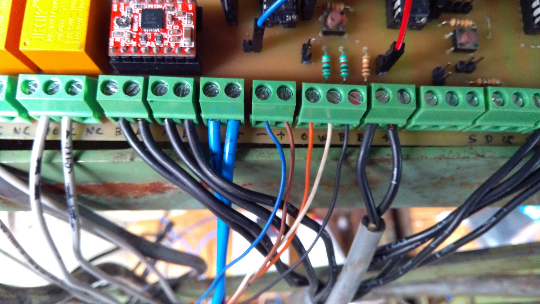 Inteerfacing of the Motherboard With the DigiCone MDF Machine