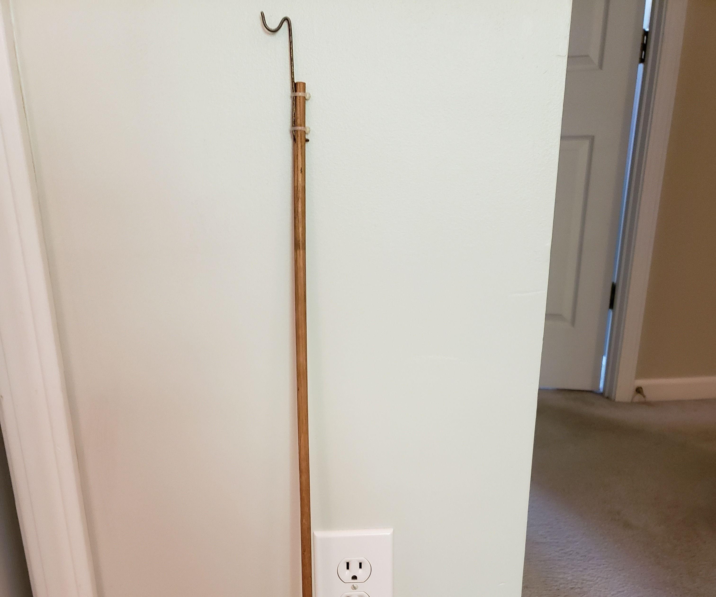 Handy Push/pull Hook Stick