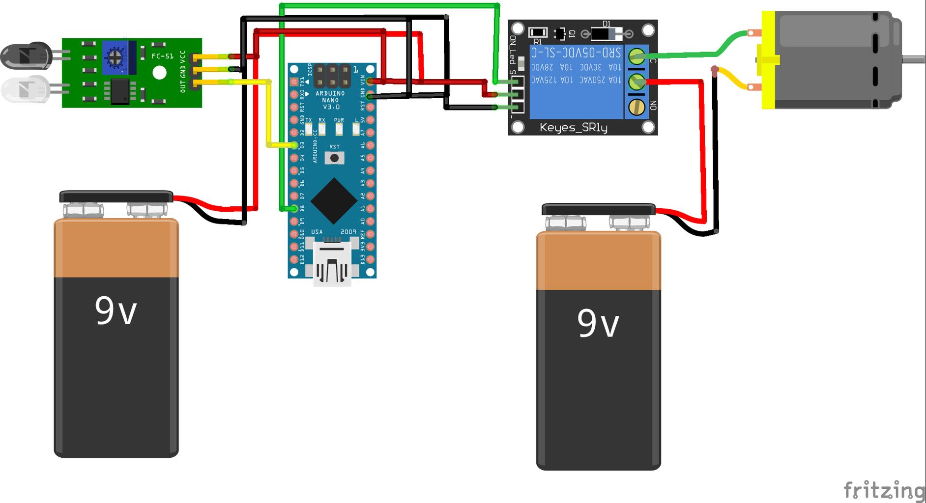Step 3:Circuit  Diagram
