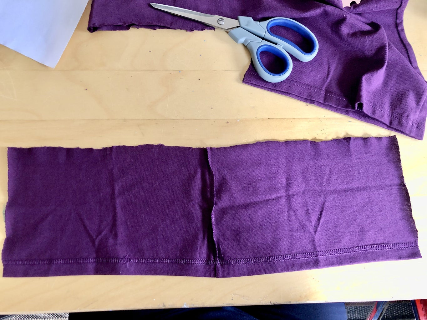 Cut the Fabric for the Mask