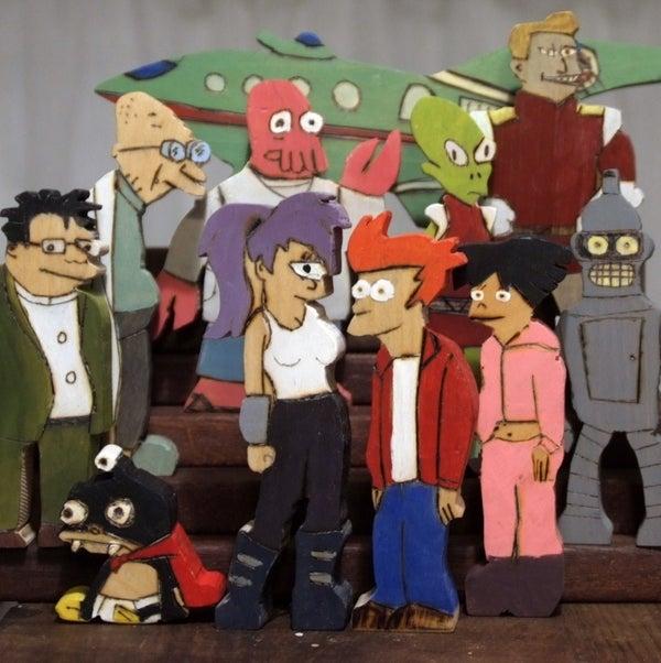 Futurama - Wooden Toys