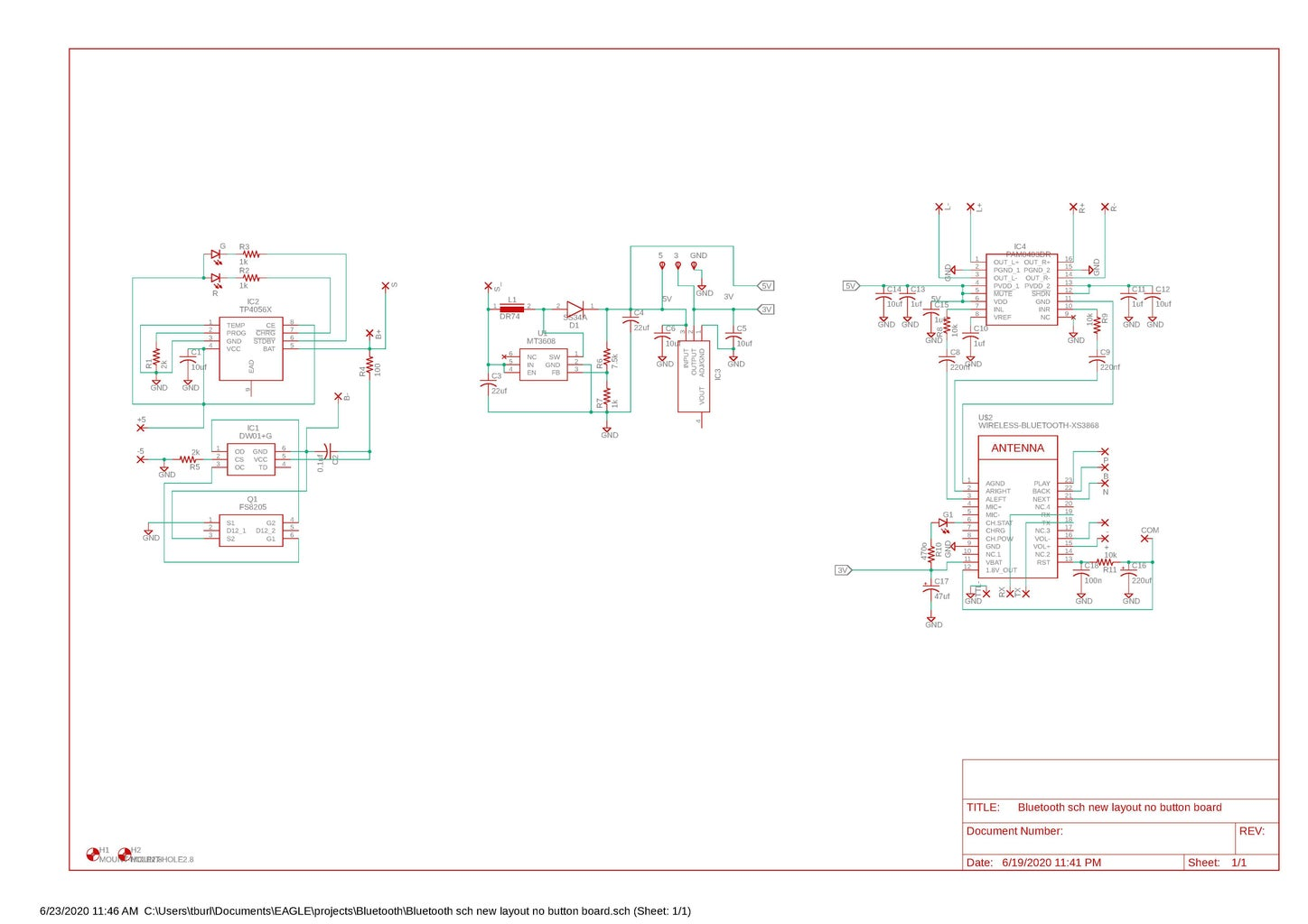 The Schematic and Board View.