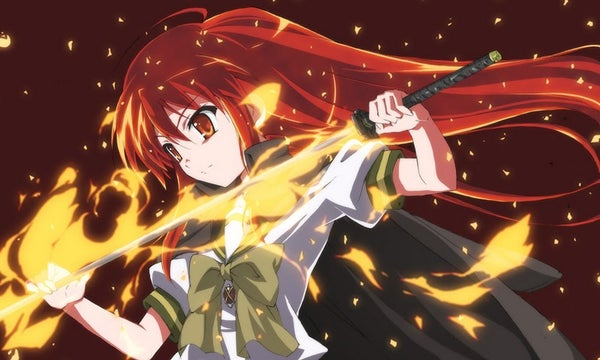 Acrylic Flaming Sword