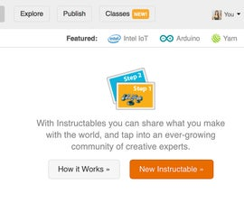 Writing an Instructable and Adding Photos