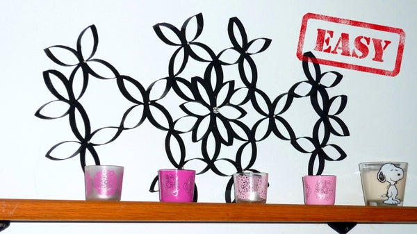 DIY Room Decor - a Wall Art With Toilet Paper Rolls!?!? (almost Free)