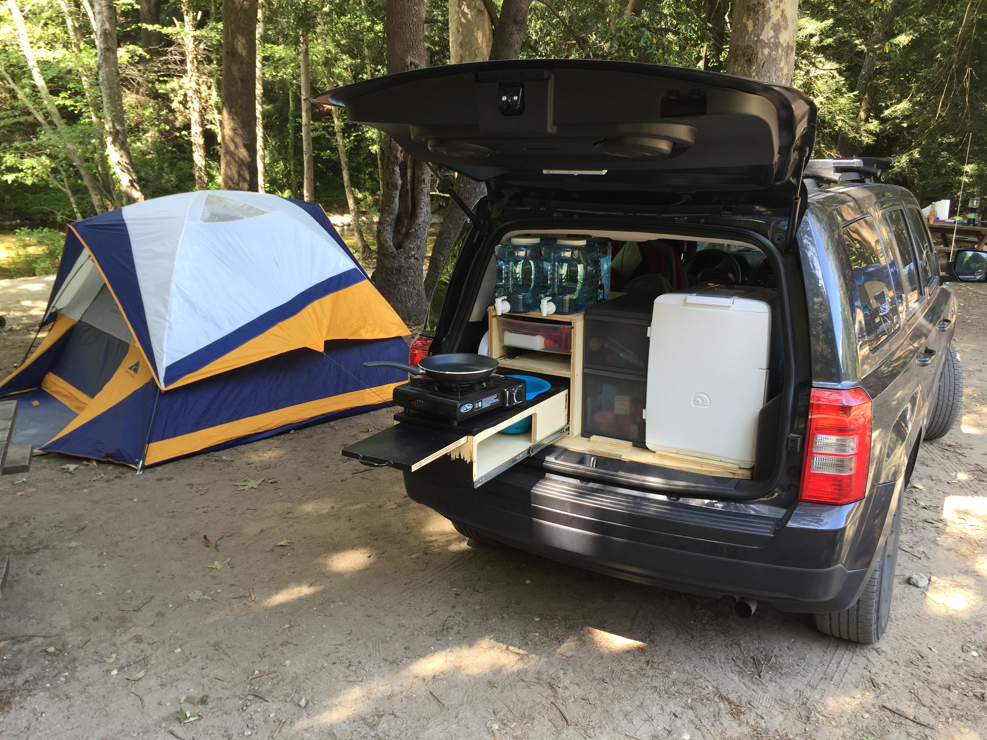 The Ultimate Car Camping Setup 8 Steps With Pictures Instructables