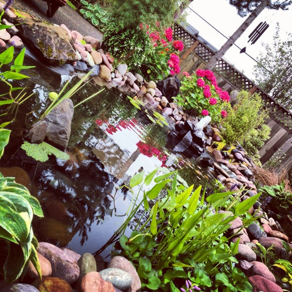 Simple Pond Fountain